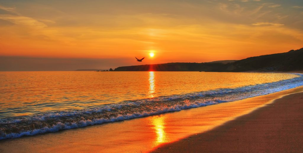 sunset-beach-gary-burge-hypnotherapy-plymouth